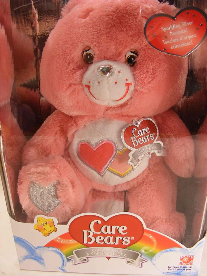 "SPECIAL EDITION SWAROVSKI 12"" LOVE-A-LOT CARE BEAR - SLIGHT FLAW"
